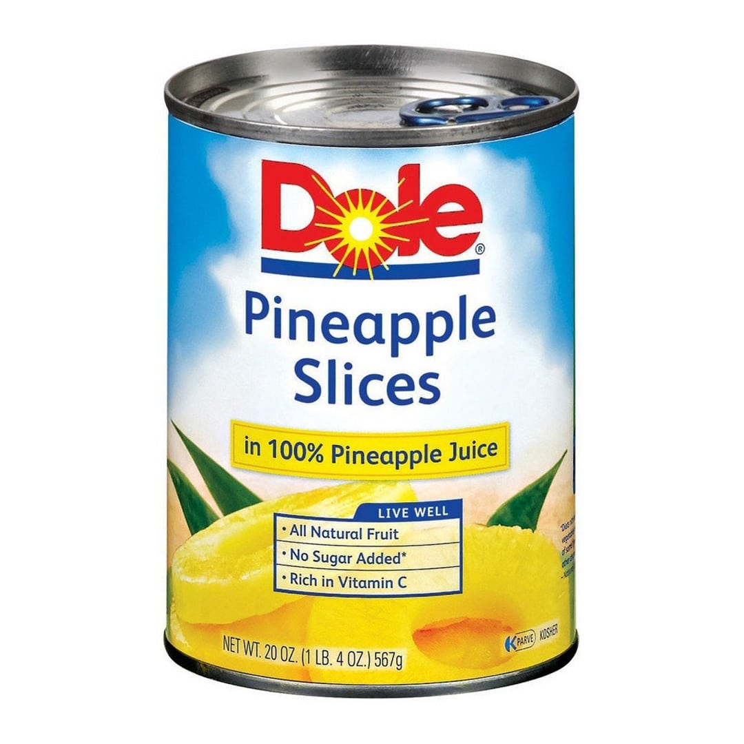 Dole pineapples slices 20 oz
