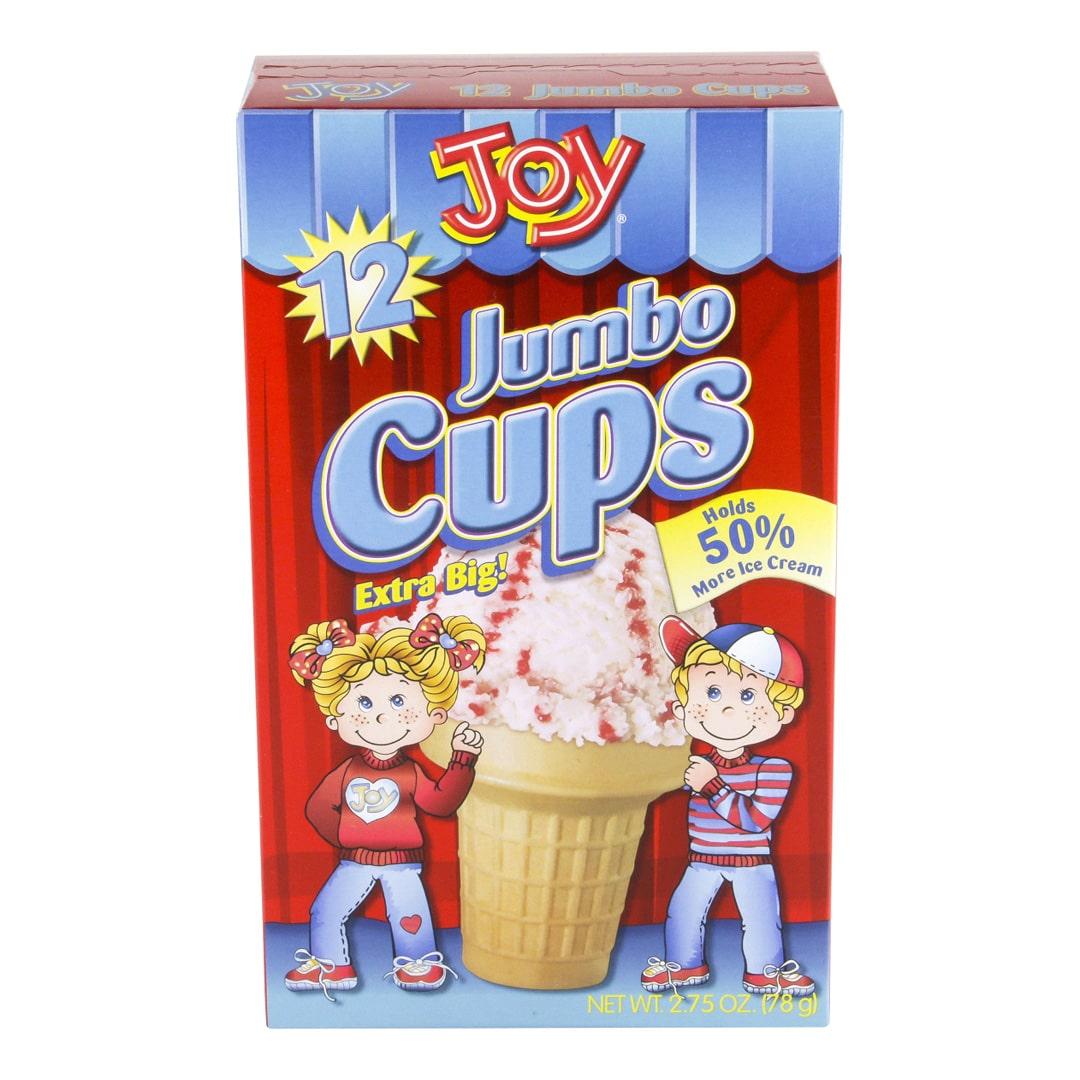 Joy ice cream cups